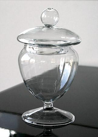la mini bonbonni re en verre luxe sur pied nos. Black Bedroom Furniture Sets. Home Design Ideas