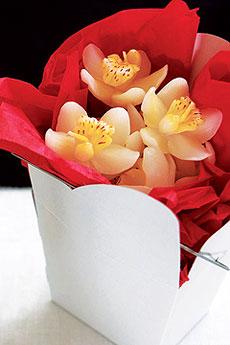 Mini Bougies Orchidées Mariage