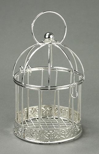 la mini cage oiseaux argent e nos contenants pour dragees ou bonbons. Black Bedroom Furniture Sets. Home Design Ideas