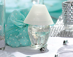 Mini Lampe de Chevet Contenant Liquide