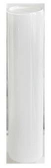 Mini Vase tube à essai blanc