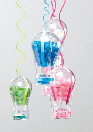 Contenant montgolfière