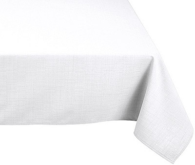 Nappe Polyester 180x300 Blanche