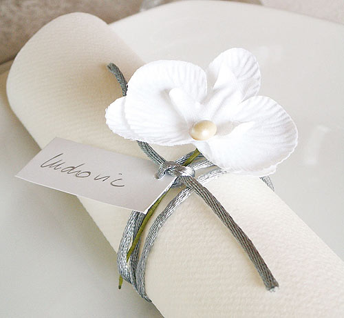 Theme Mariage Orchidee Decoration : Mariage theme vert blanc zen orchidees page