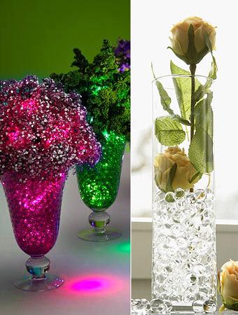 la boite de 1250 perles d 39 eau pour d coration florale
