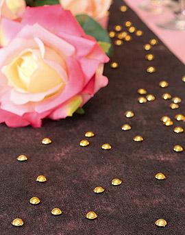 Perles de Pluie de Décoration Or Argent Doré