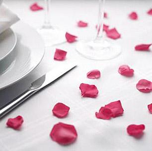 Pétales de Rose Artificiels Mariage pas cher