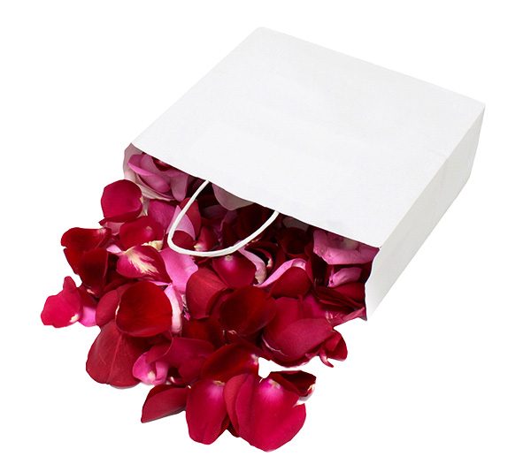 Les p tales de rose mariage - Petales de roses sechees ...