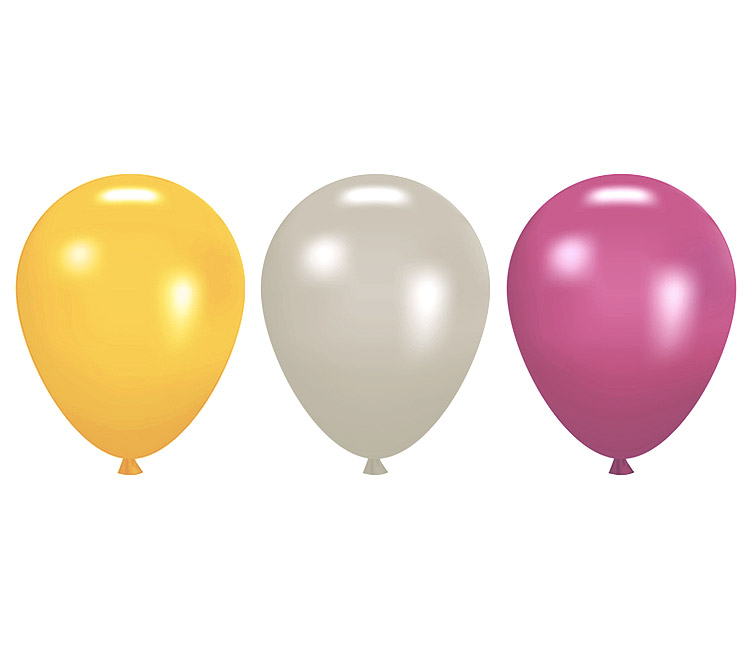 Mini ballons mariage