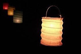 Petit Luminion lampion avec Bougie