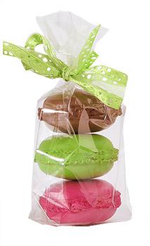 Petits Sachets Transparent Macaron pas cher