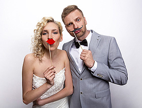 Animation Photobooth Mariage Moustache
