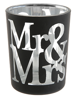 Luminion Mr and Mrs Blanc Noir Mariage Noir