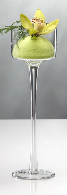 Le photophore sur pied haut luxe 30 cm grand mod le - Grand verre a pied pour decoration ...