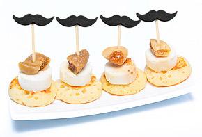 Mini Pics Moustache Mise en Bouche
