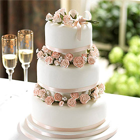 Piece Montee Wedding Cake