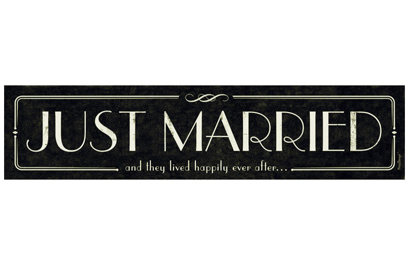 Plaque Photobooth Vintage Mariage