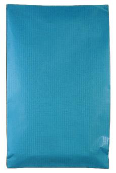 Pochette Cadeau Kraft pas cher Turquoise