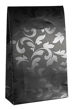 Pochette Cadeau Noire Vernie Arabesque pas cher