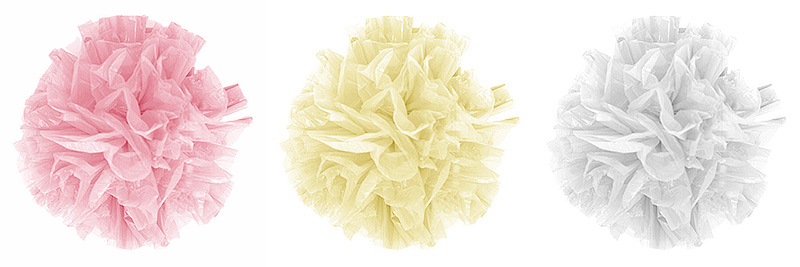 Mini Pompons Tulle Mariage
