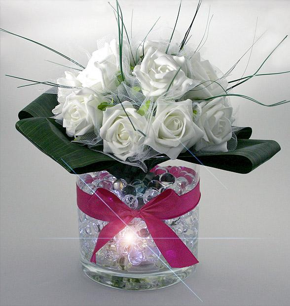 Le Vase Photophore Geant Rond Centre De Table Bougies Decoratives