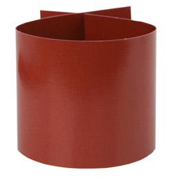 lot de 6 ronds de serviette unis d coration de table. Black Bedroom Furniture Sets. Home Design Ideas