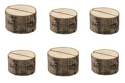 Rondins de bois fente marque place