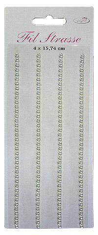 Bandes perles autocollantes