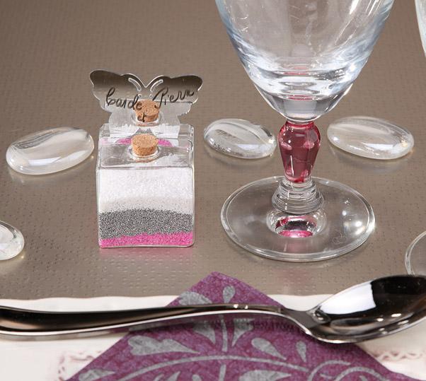 flacon de sable d coratif 400g d coration de table mariage. Black Bedroom Furniture Sets. Home Design Ideas