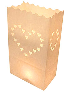 Sacs Luminaires Bougies Mariage
