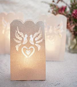 Sacs Luminaires Allée Jardin Colombes Mariage