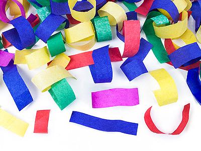 Confetti serpentins multicolor
