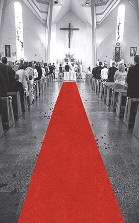 Tapis Eglise Mariage pas cher