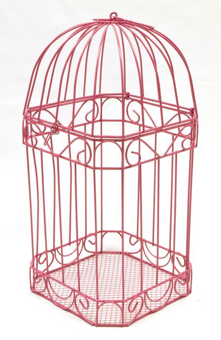 la cage oiseaux urne des mari s m tal couleur les. Black Bedroom Furniture Sets. Home Design Ideas