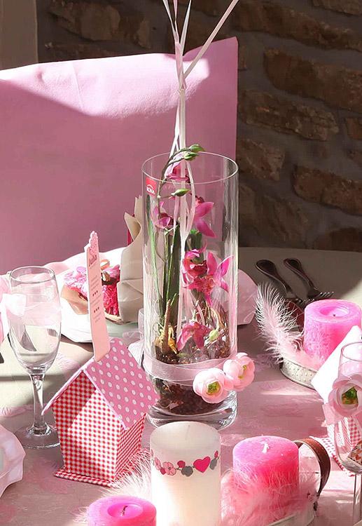 le vase en verre droit cylindrique haut 25 cm luxe noel. Black Bedroom Furniture Sets. Home Design Ideas
