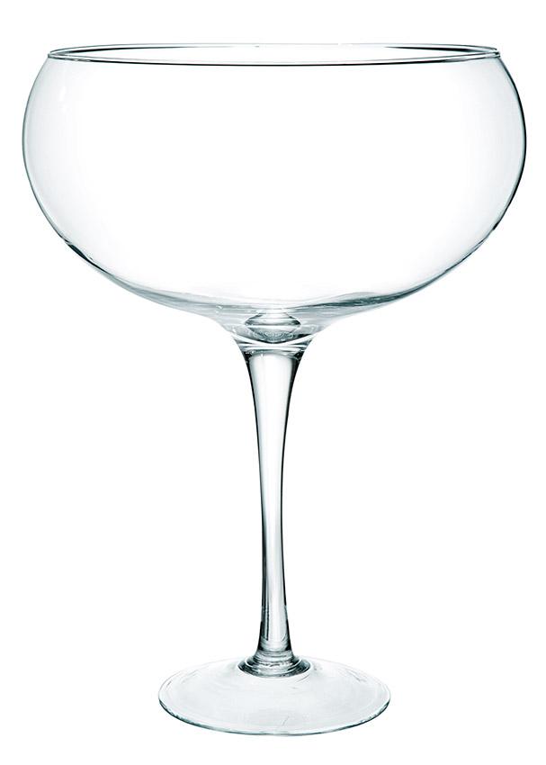 Vase Dolce Vita Coupe Sur Pied Geant Xxl