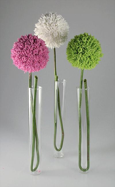 Lot De 3 Mini Vases Eprouvettes Tube A Essai Noel