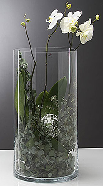 vase en verre cylindrique droit biseaux mariage vases. Black Bedroom Furniture Sets. Home Design Ideas