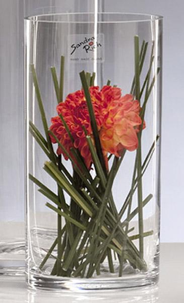 vase en verre cylindrique droit biseaux mariage vases coupelles verre mariage. Black Bedroom Furniture Sets. Home Design Ideas
