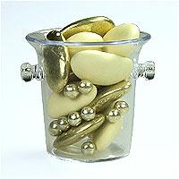 Mini Seaux à Champagne Pvc avec Dragées