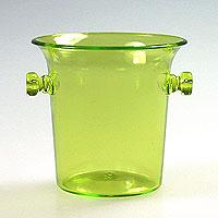 Verrines Plastique Seau Champagne Vert Anis