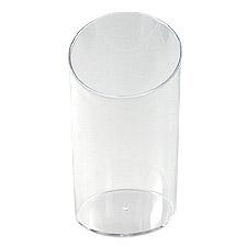 Verrine Plastique Cylindrique pas cher