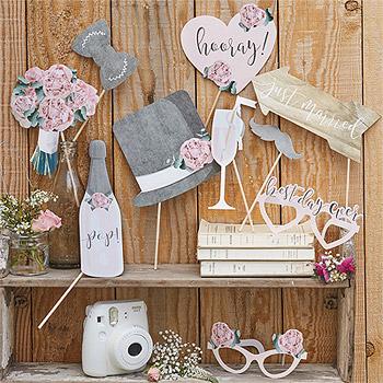 Accessoires Photobooth vintage