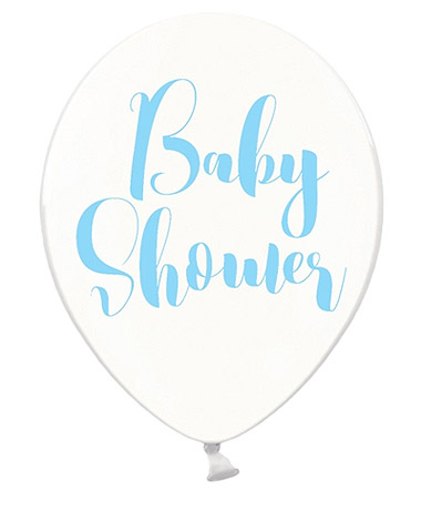 Ballons Baby Shower Transparent Ciel