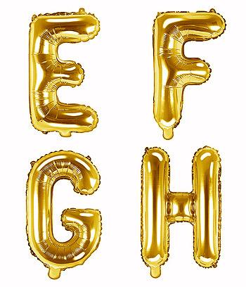 Ballon doré Lettre