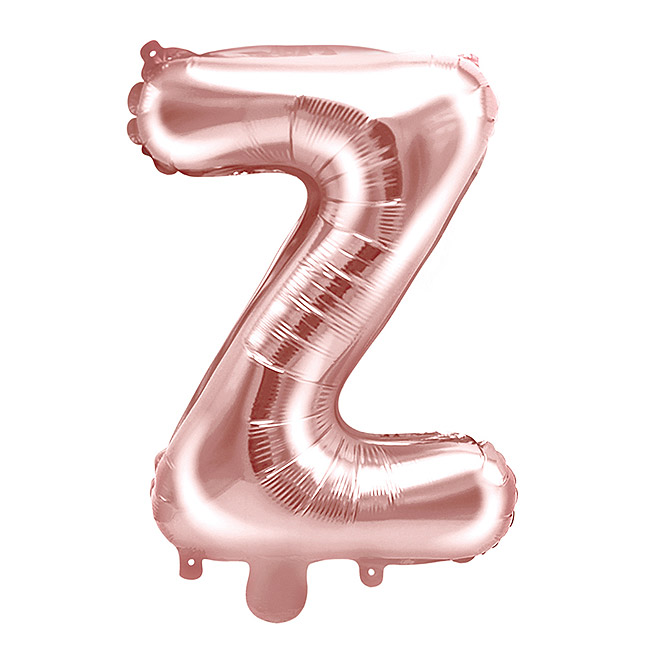 Ballon Lettre Z Rose Gold