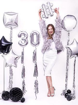 Ballon chiffre anniversaire 30 ans