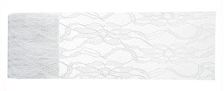 Bobine ruban dentelle blanche discount 5m