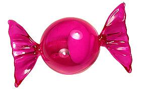 Bonbon Contenant Dragées Fuchsia