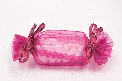 Bonbon Organdi Boite à Dragées Pas Cher Fuchsia
